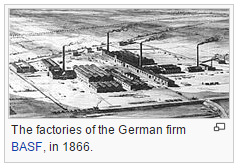 The factories of the German firm BASF